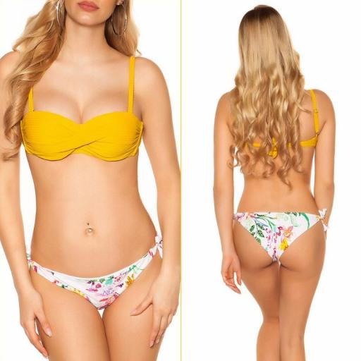 Bikini Mochima push up mostaza [0]