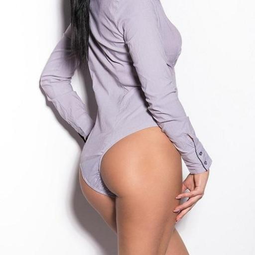 Blusa body ejecutiva beige  [2]