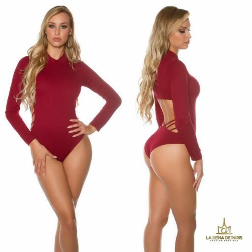 Body atractivo color burdeos [2]