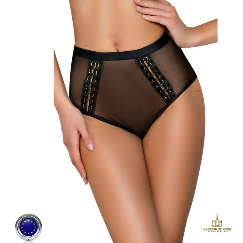 Braga talle alto transparente sensual