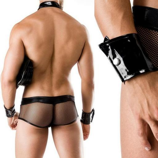 Conjunto policía hombre erótico [3]