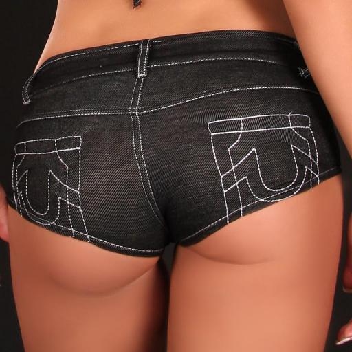 Jean culotte negro [3]