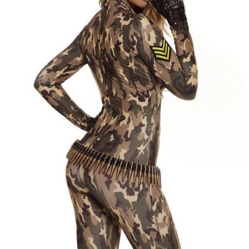 Disfraz militar sexy mono uniforme [2]