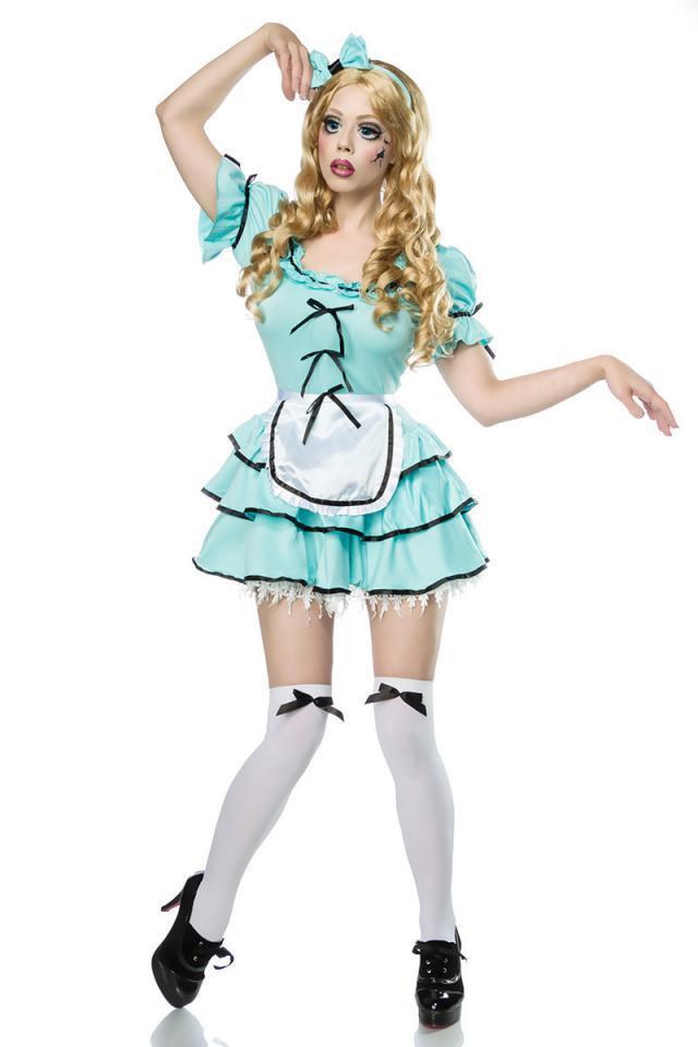Disfraz muñeca de terror