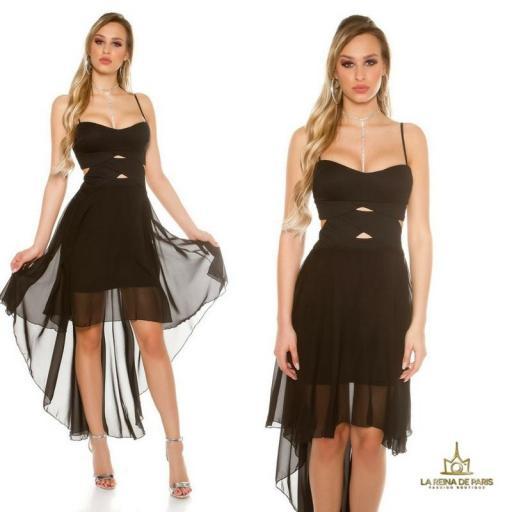 Vestidos para cóctel Carletta [3]