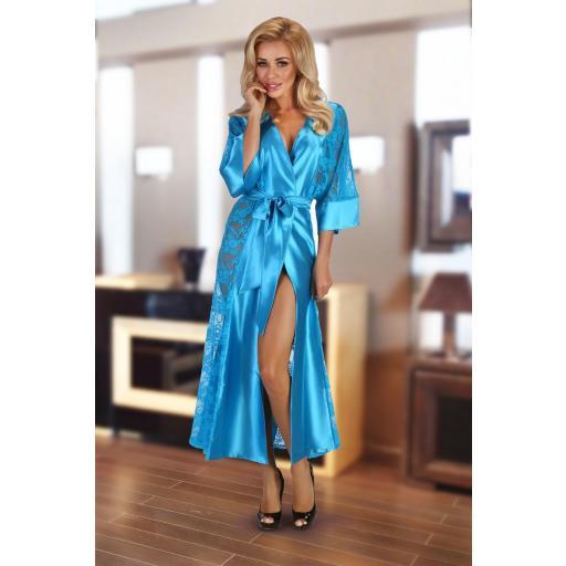 Bata azul turquesa luxury [2]