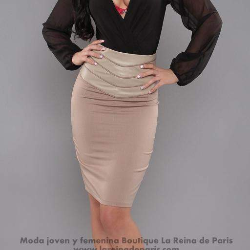 Falda modelo Fresh Beige