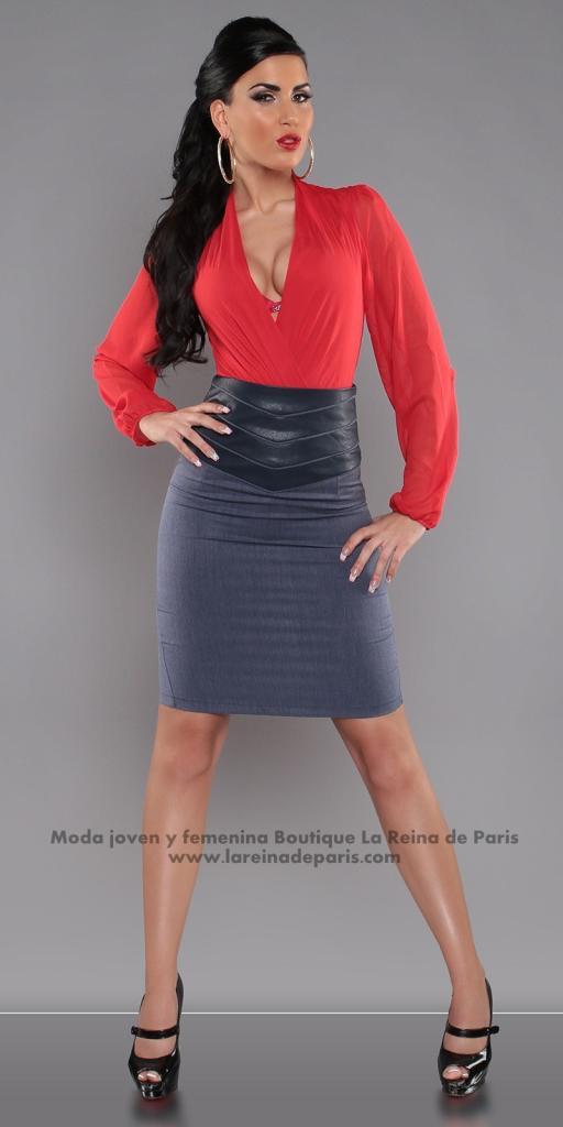 Falda modelo Fresh Azul