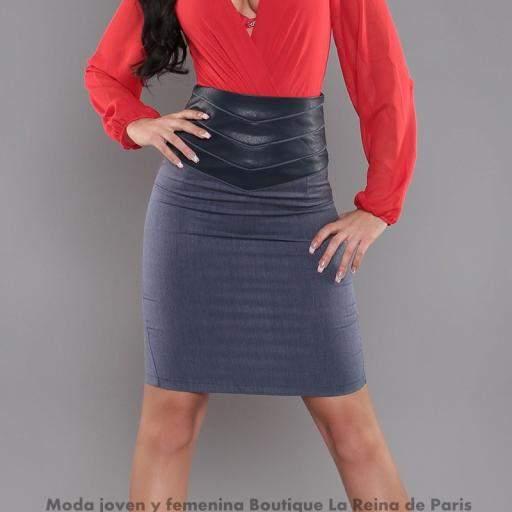 Falda modelo Fresh Azul [0]