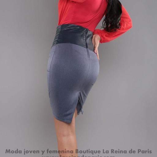 Falda modelo Fresh Azul [2]