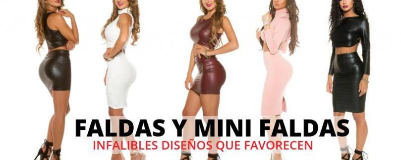 Faldas-minifaldas