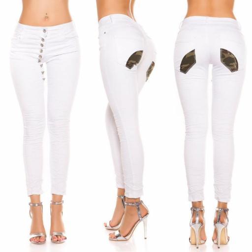 Jeans blanco marcatipazo abotonado [1]