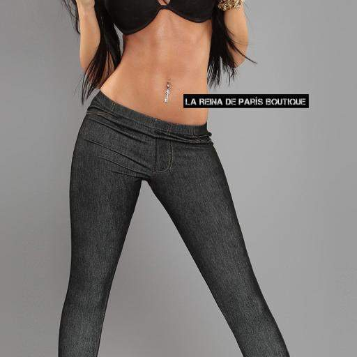 Jeggings Lizzy negro