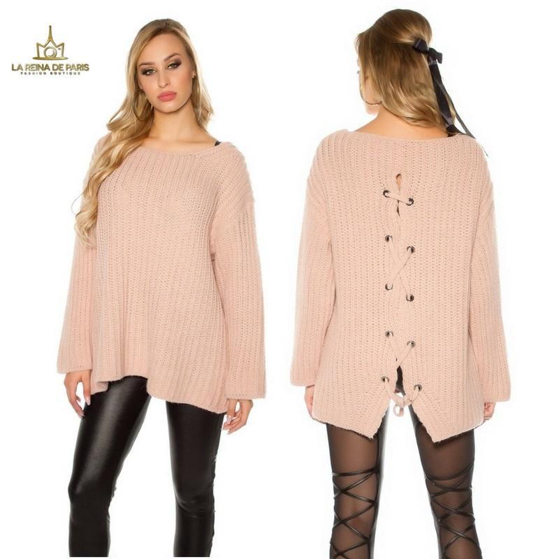 Jersey oversize rosa
