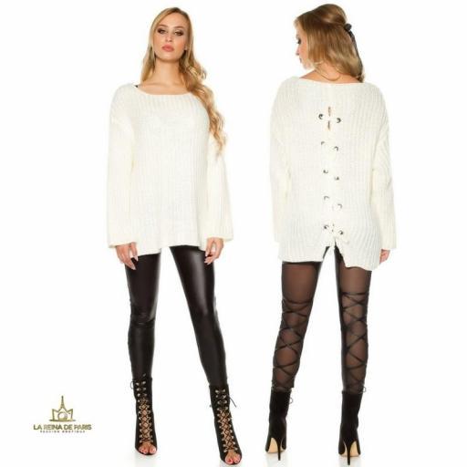Jersey oversize blanco [1]