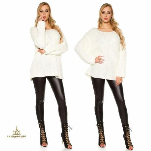 Jersey oversize blanco [3]