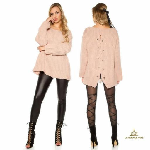 Jersey oversize rosa [1]