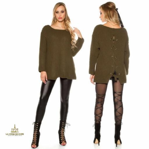 Jersey oversize khaki [1]