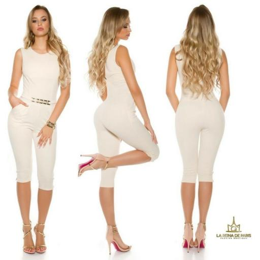 Capri jumpsuit beige [0]