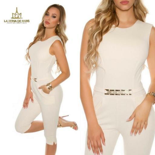 Capri jumpsuit beige [3]