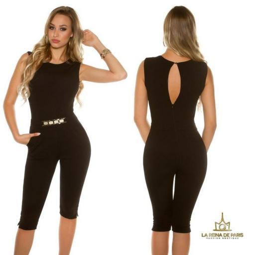 Capri jumpsuit negro [1]