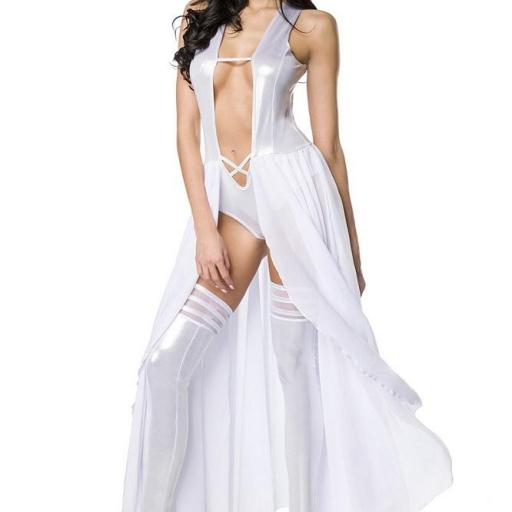 Body vestido gogo set