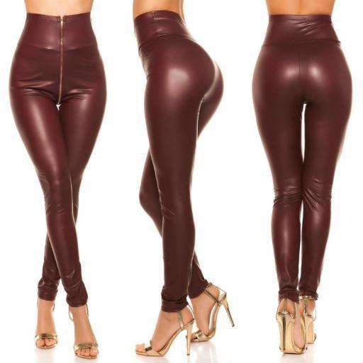 Leggings de cintura alta cremallera BD [1]