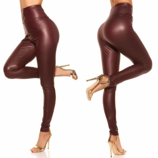 Leggings de cintura alta cremallera BD [2]