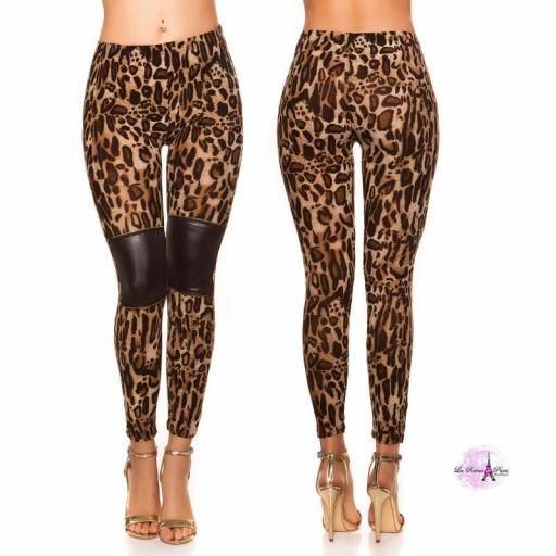 Leggings Panthera pardus