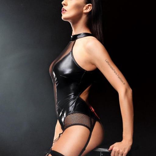 Lencería atractivo sexual evidente Body  [3]