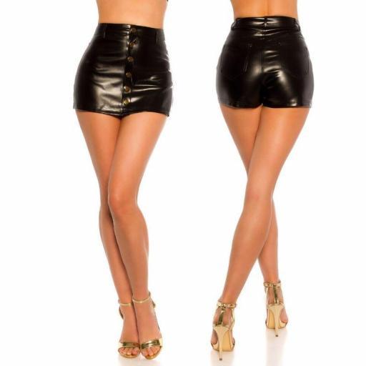Minifalda efecto piel sexy look