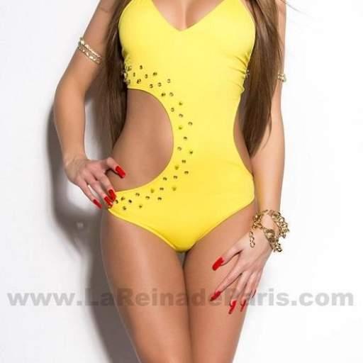Trikini Dianne amarillo [2]