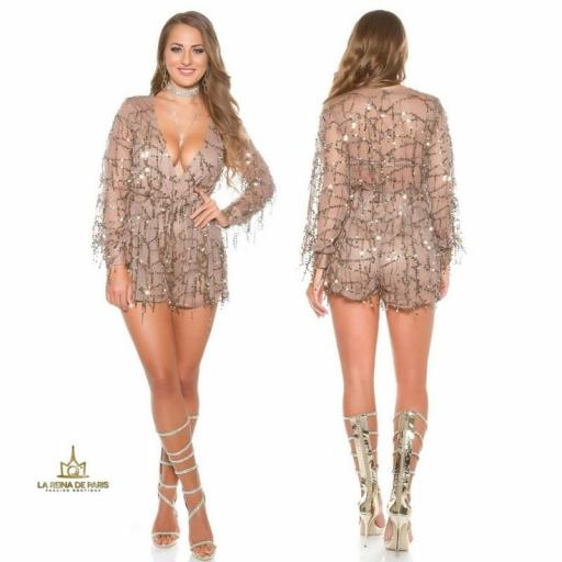 Playsuit party capuchino [1]