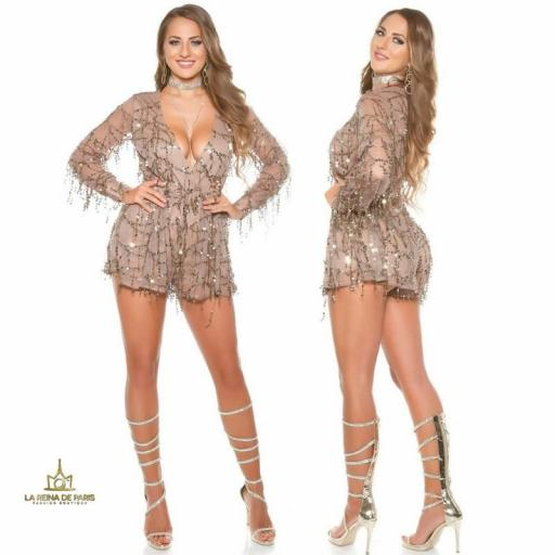 Playsuit party capuchino [2]