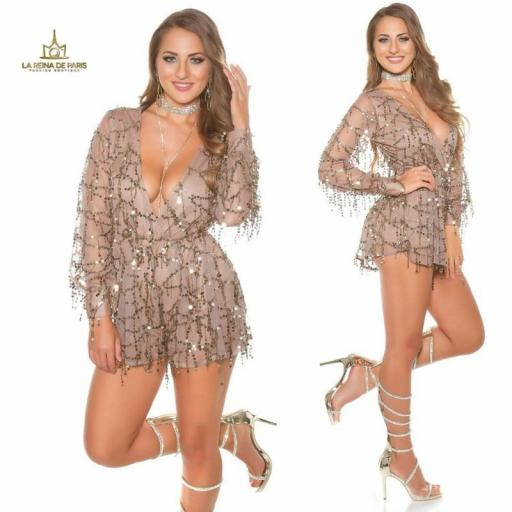 Playsuit party capuchino [3]