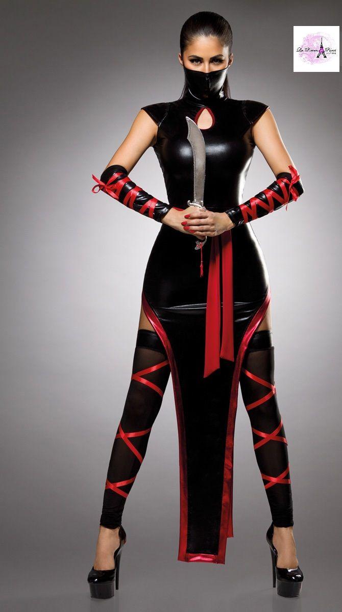 Ninja sexy conjunto
