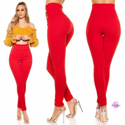 Pantalones de cintura alta RJ [2]