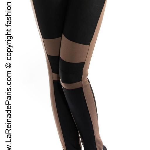 Pantalones de moda Niki capuchino [0]