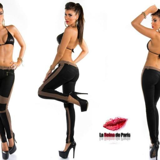 Pantalones de moda Niki capuchino [2]