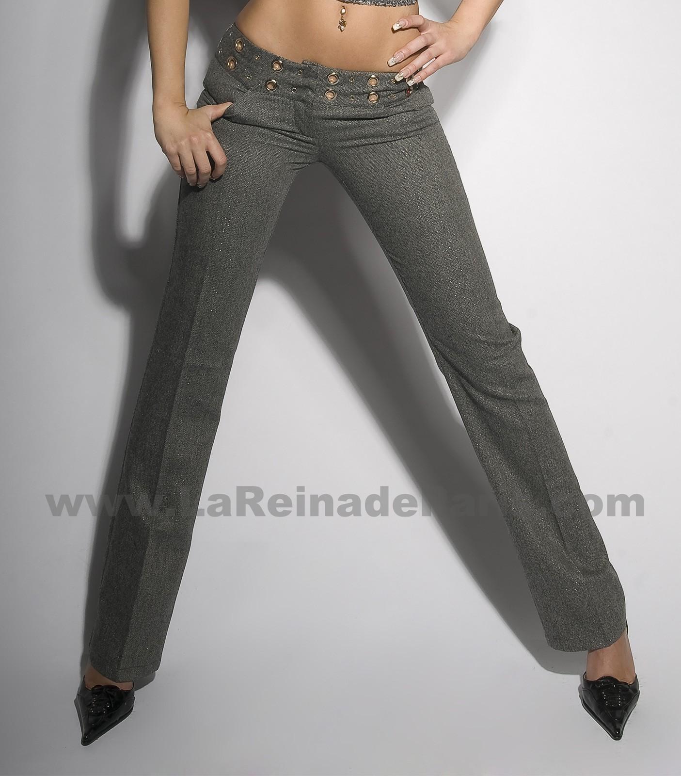 Pantalón Ithaisa gris
