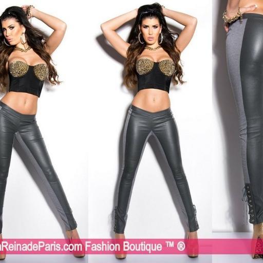 Pantalones ceñidos online atractivos