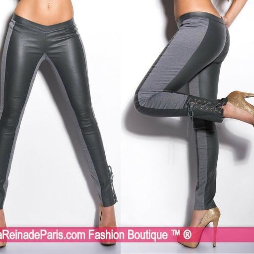 Pantalones ceñidos online atractivos [3]