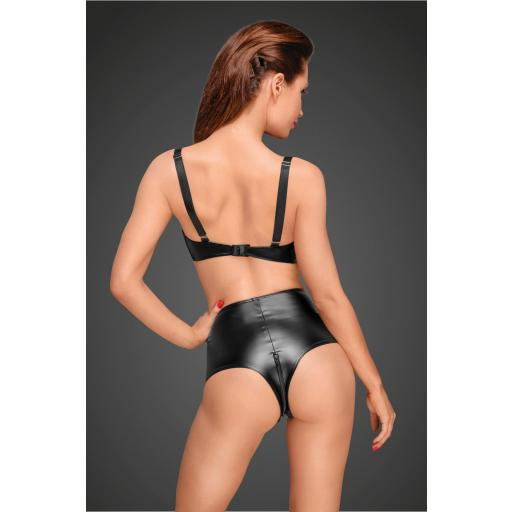 Culotte cintura alta cuero sexy [1]