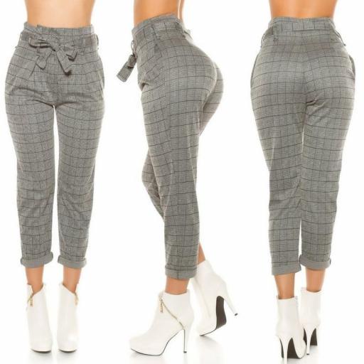 Pantalones de cintura alta tendencia [1]