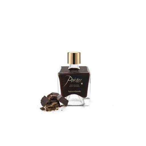 Pintura corporal sabor chocolate negro [3]