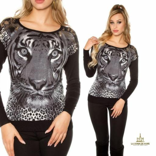 Jersey tigre con diamantes [3]