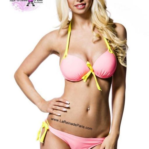 Bikini Halter sexy embellece la figura Marina