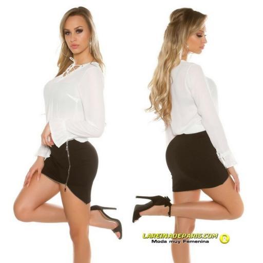 Blusa que esta de moda atractiva [2]
