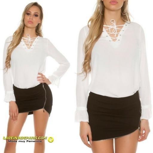 Blusa que esta de moda atractiva [3]