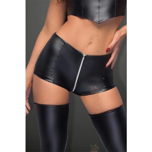 Pantalones cortos sexy cremallera [3]